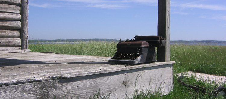 máquina de escribo