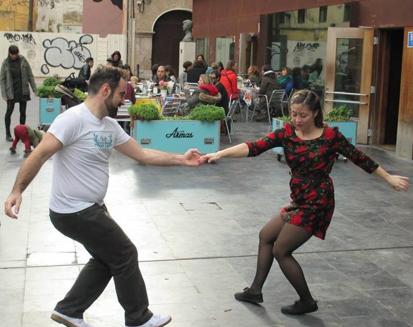 Lindy hop en Las Armas 1